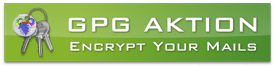 GPG Aktion - encrypt your mails