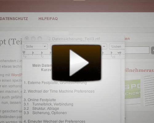Video Starten auf Screencast.com