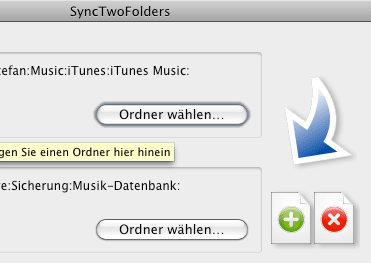 SyncTwoFolders
