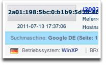 IPv6 Blog-Logfile