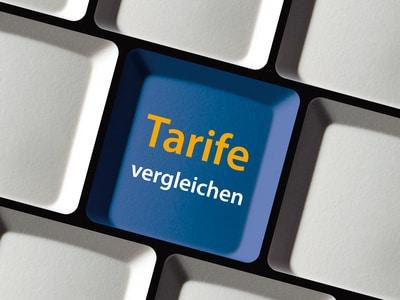 Tarife und Anbieter vergleichen