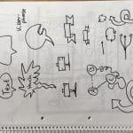 Sketchnote: Container und Symbole